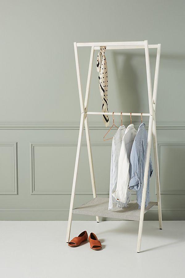Slide View: 1: Westen Folding Garment Rack