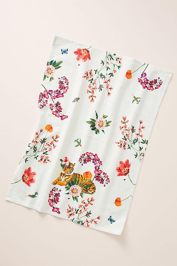Slide View: 1: Nathalie Lete Helena Dish Towel