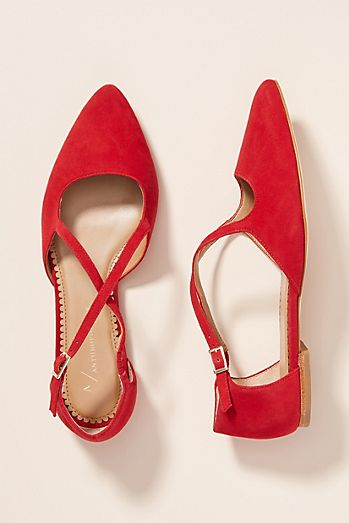 a3be7430d8 Women's Flats | Peep Toe, Bow & More | Anthropologie