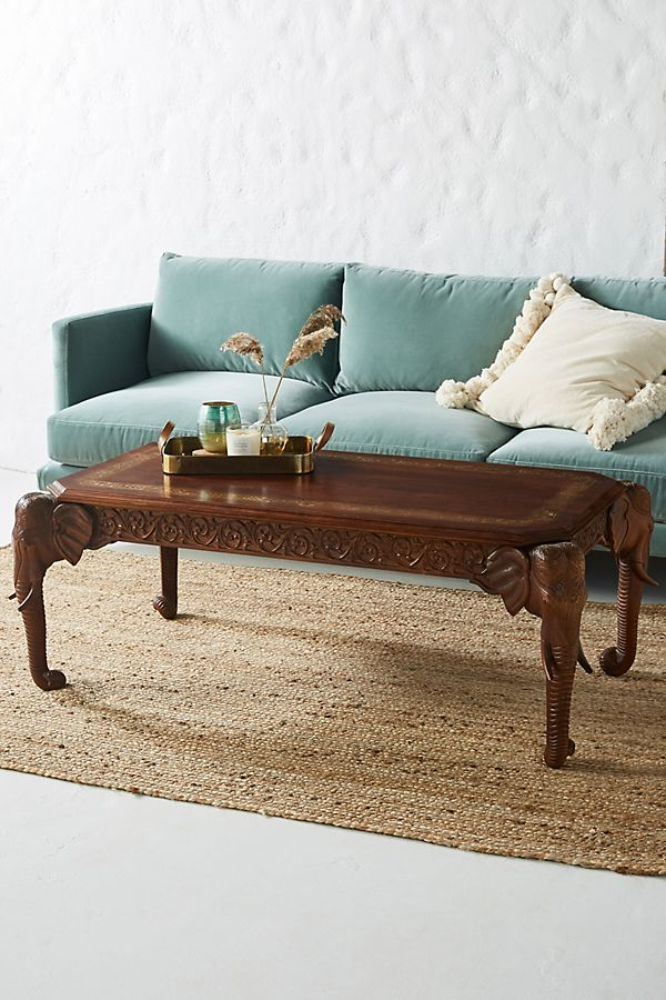 Slide View: 1: Elephant Coffee Table