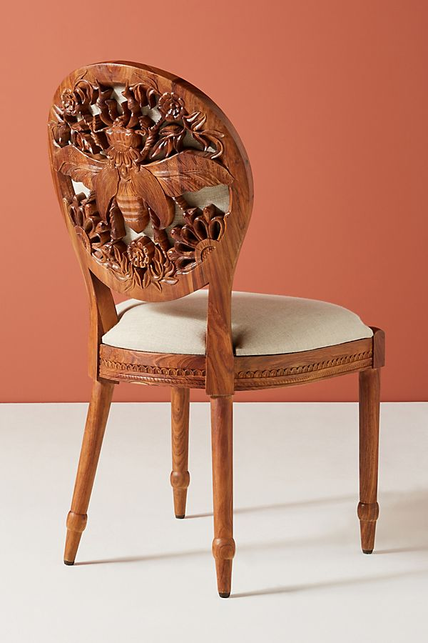 Terrific Carved Queen Bee Dining Chair Anthropologie Unemploymentrelief Wooden Chair Designs For Living Room Unemploymentrelieforg