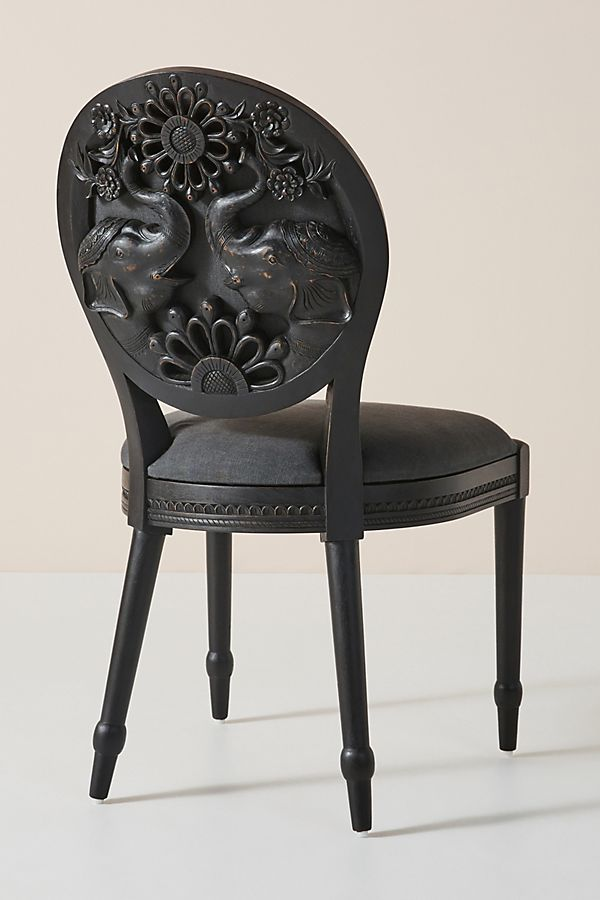 Groovy Carved Elephant Dining Chair Unemploymentrelief Wooden Chair Designs For Living Room Unemploymentrelieforg