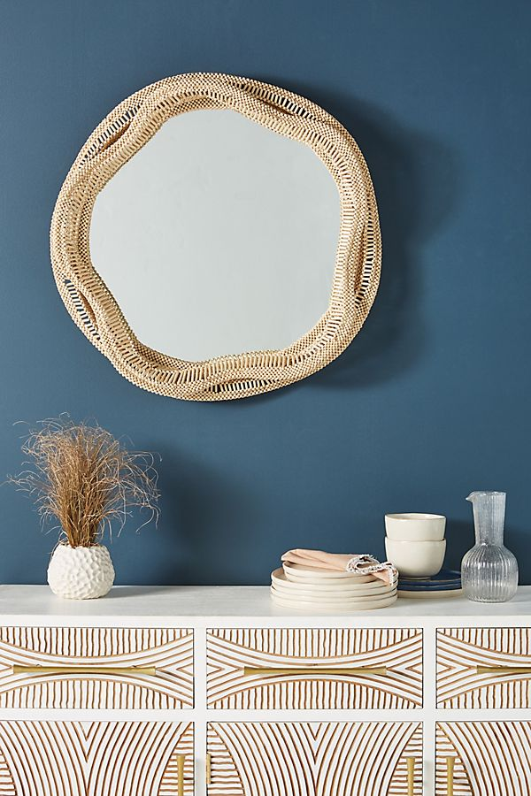 Slide View: 1: Libby Beaded Mirror