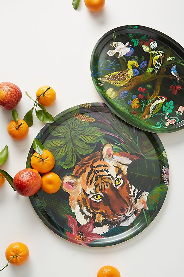 Slide View: 3: Nathalie Lete Animalia Decorative Tray
