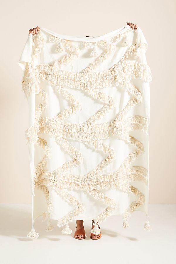 Slide View: 1: Fringe Bay Throw Blanket