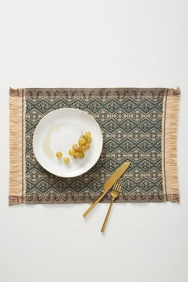 Taka Placemat by Anthropologie