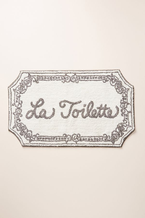 Slide View: 1: La Toilette Bath Mat