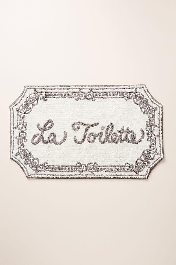 Slide View: 1: La Toilette Bath Mat