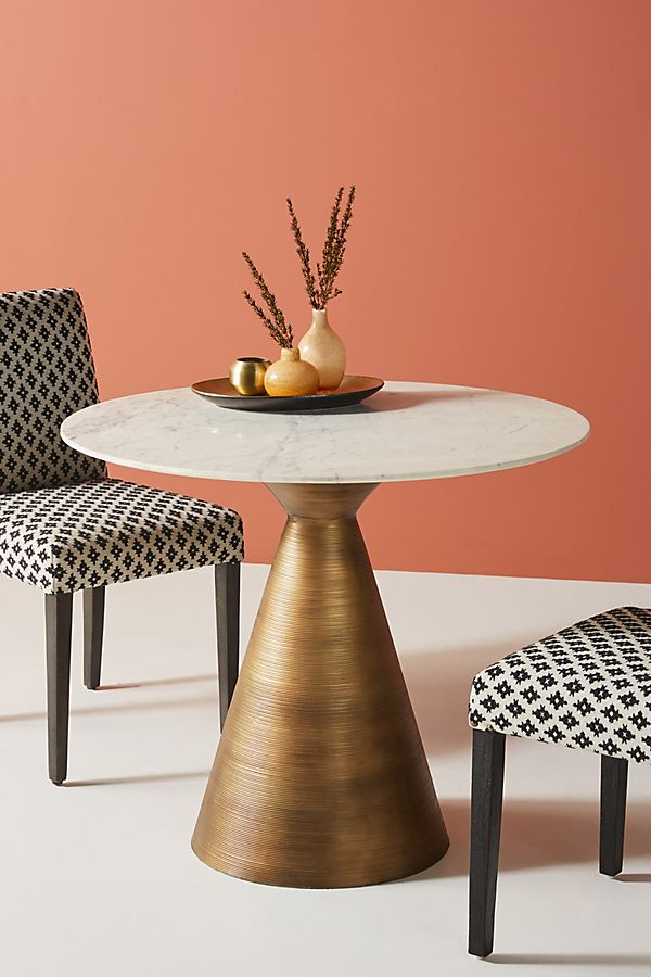 Slide View: 1: Vivien Metal Bistro Table