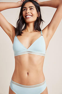 Slide View: 1: Real Underwear Core Fusion Bralette Set