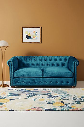 blue - Small Apartment Sofas & Couches   Anthropologie