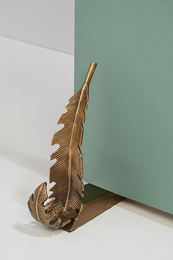 Slide View: 1: Feather Doorstop
