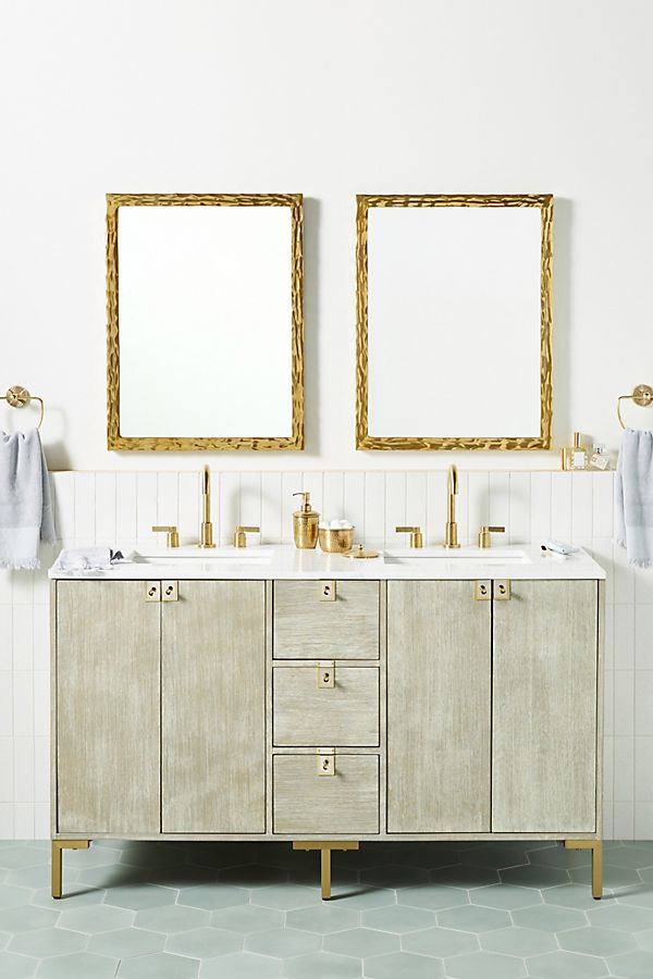 Slide View: 1: Ingram Double Bathroom Vanity