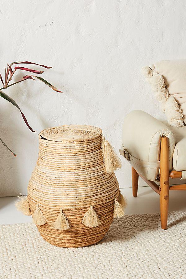 Slide View: 1: Tiefiti Tassel Basket