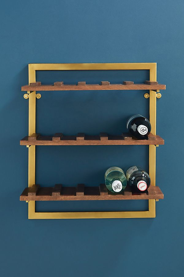 Slide View: 1: Westley Tiered Bar Shelf