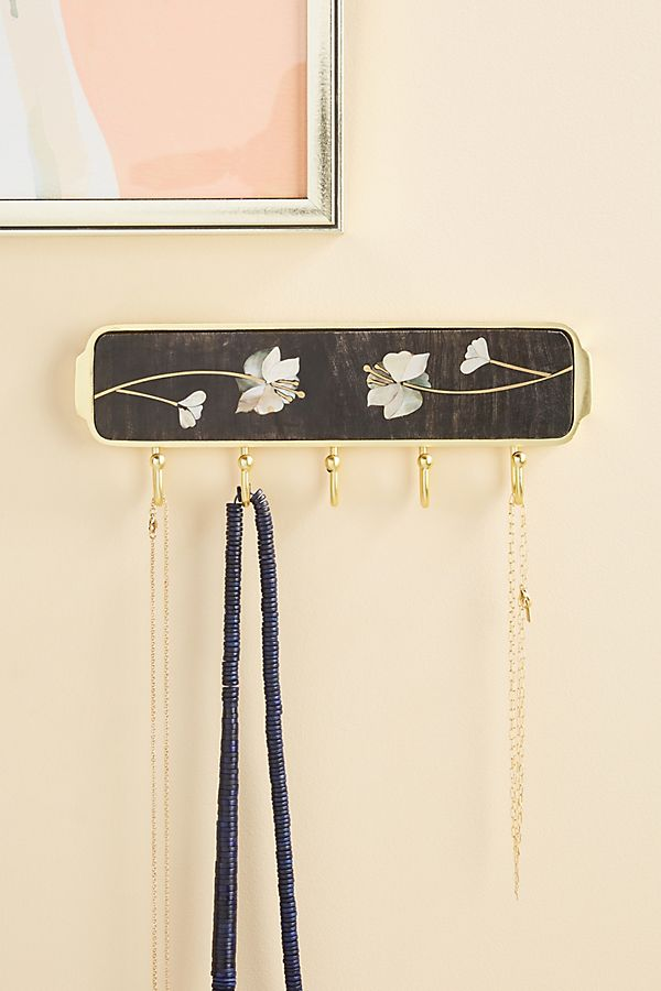 Slide View: 1: Olivia Jewelry Holder