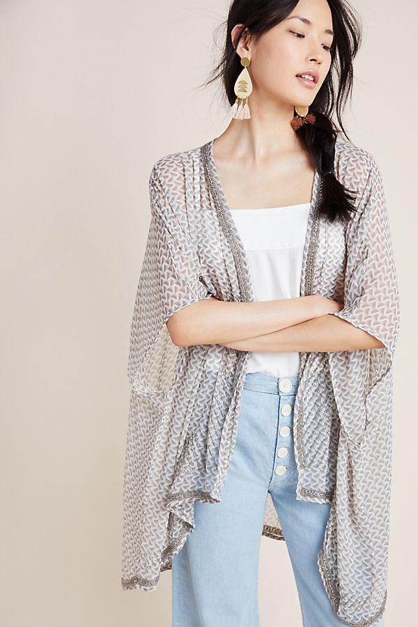 Slide View: 1: Joya Shimmer Kimono