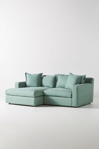 Katina Petite Chaise Sectional