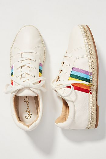 cc0d5edd103 Splendid Rainbow Espadrille Sneakers
