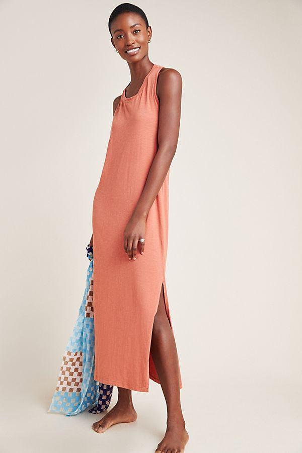Slide View: 1: Sundry Twist-Back Midi Dress