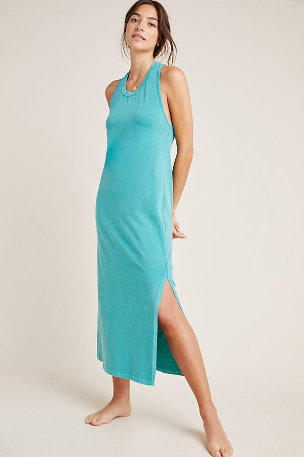 Slide View: 1: Sundry Twist-Back Midi Dress