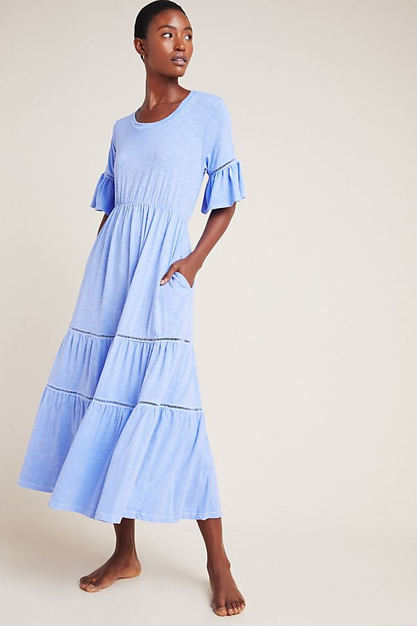 Slide View: 1: Sundry Tiered Maxi Dress