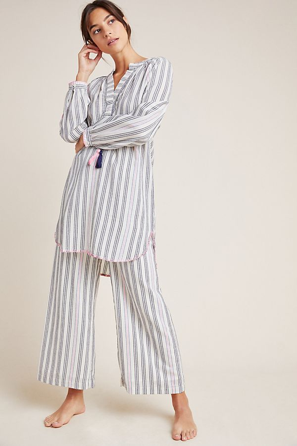 Slide View: 1: Sundry Striped Cover-Up Tunic