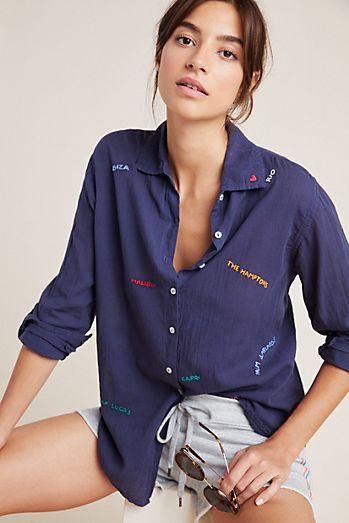 12f35933727 Women's Button Down Shirts & Dress Shirts | Anthropologie