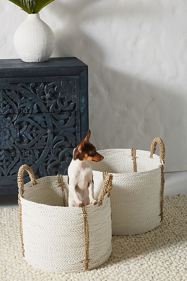 Slide View: 1: Uma Baskets, Set of 2