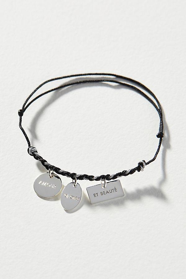 la moitié 84a9b e1f94 La Mome Bijou Message Bracelet