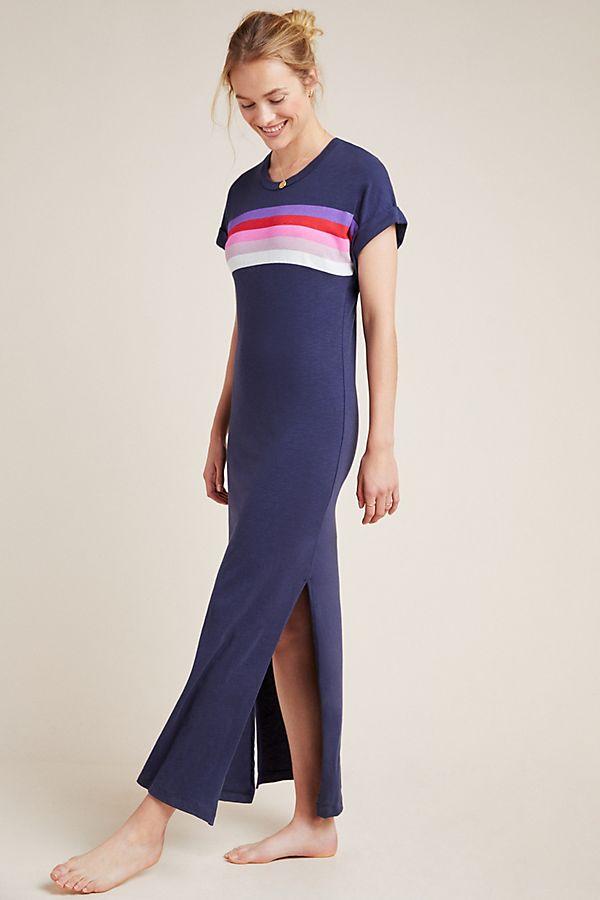 Slide View: 1: Sundry Verona Maxi Tee Dress
