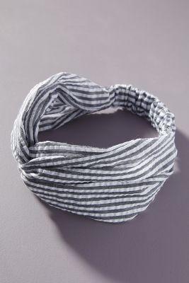 Pleated Twist Headband by Anthropologie