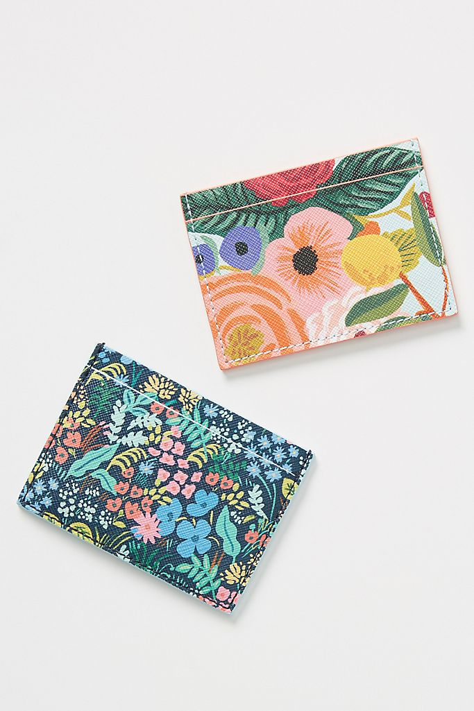 Rifle Paper Co For Anthropologie Garden Party Card Case Anthropologie