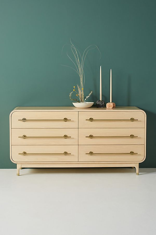Slide View: 1: Nora Six-Drawer Dresser