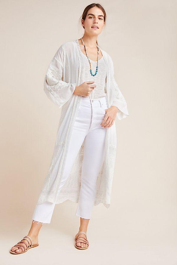 Slide View: 1: Veroalfie Yenga Duster Kimono