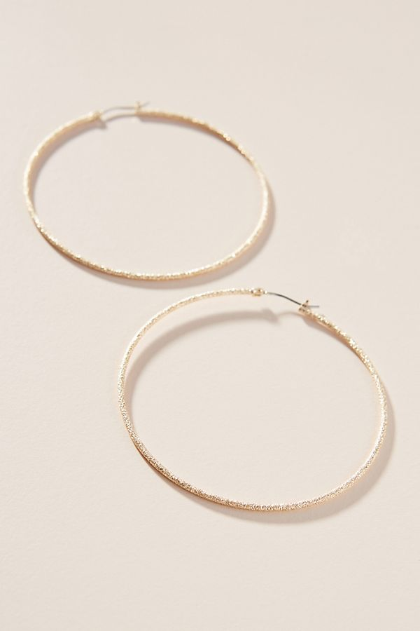 Aurelia Hoop Earrings by Anthropologie