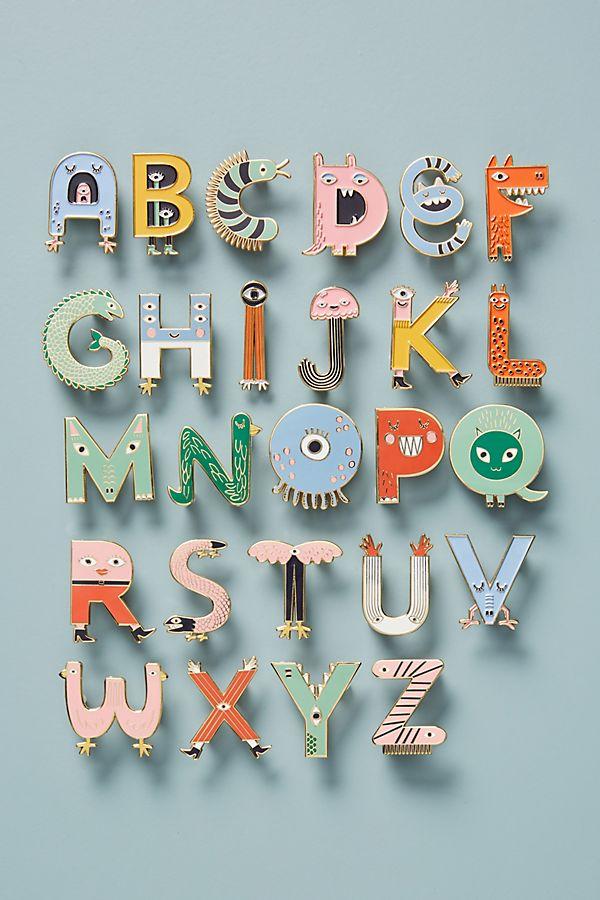 Monogram Pin