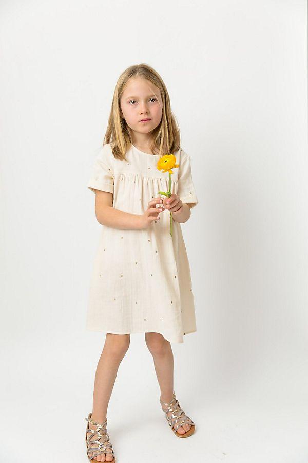 Slide View: 2: Les Petits Carreaux Double Gauze Esther Dress