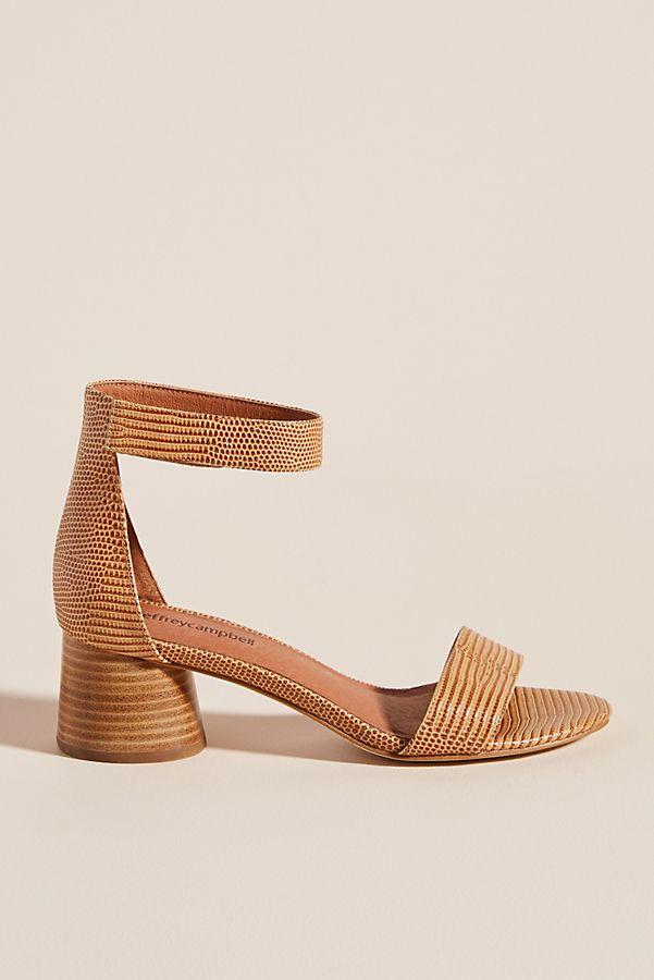 Jeffrey Campbell Issa Block Heeled Sandals by Jeffrey Campbell