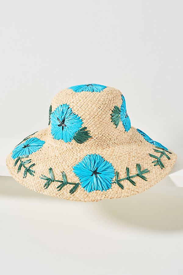 7288344f947e4 Slide View  1  Punta Cana Embroidered Sun Hat