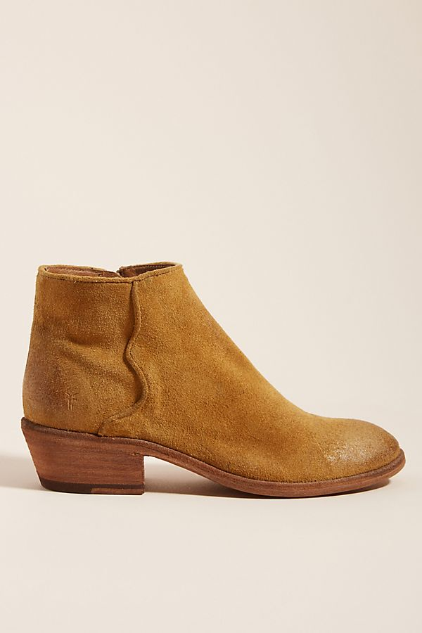 6ae0c5bbaefad Frye Carson Low Ankle Boots