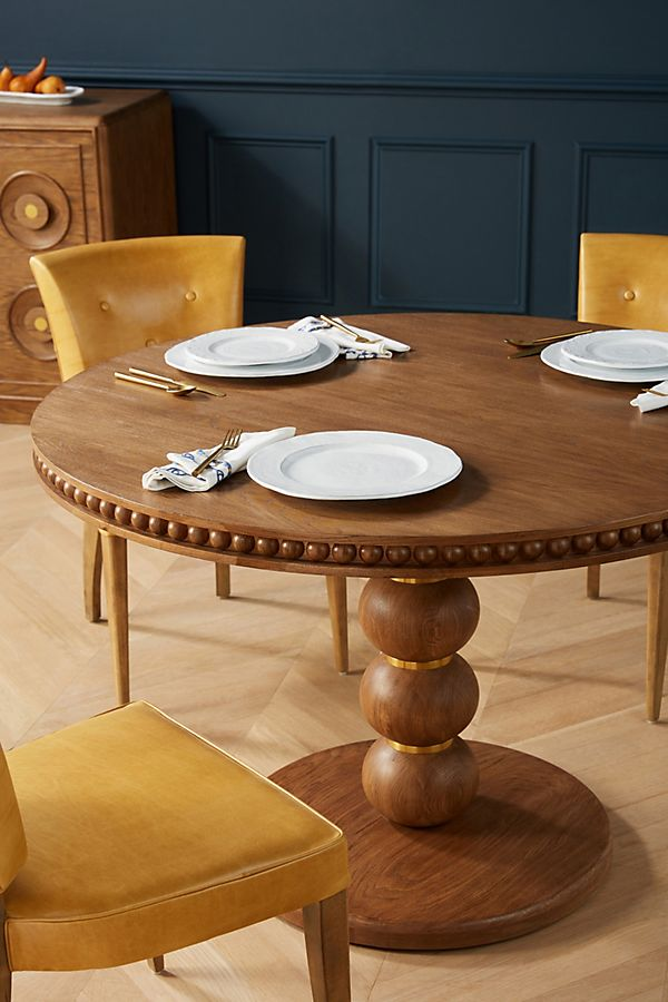 Slide View: 1: Soho Home x Anthropologie Harrison Round Dining Table