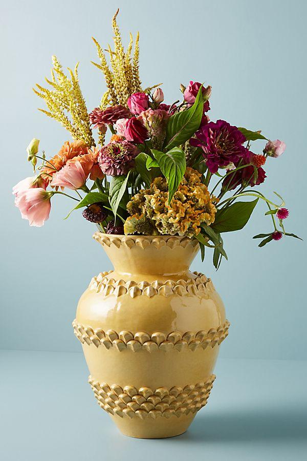 Slide View: 2: Soho Home x Anthropologie Barcelona Ceramic Vase