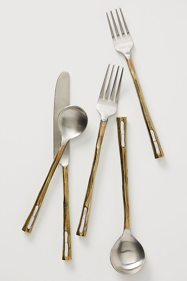 Slide View: 1: Nisa Flatware