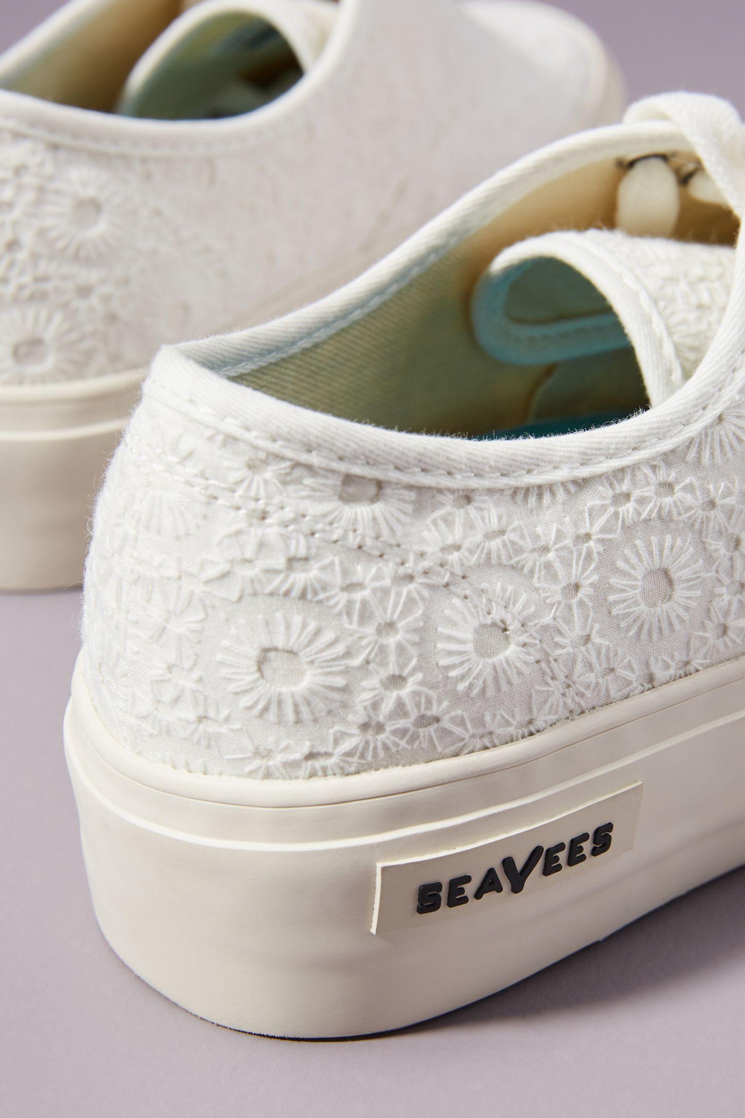 3bd8bd8b970 Slide View  4  SeaVees Eyelet Platform Sneakers