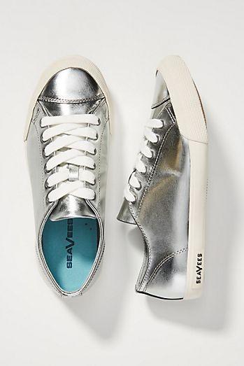 b17009aaac9 SeaVees Metallic Sneakers