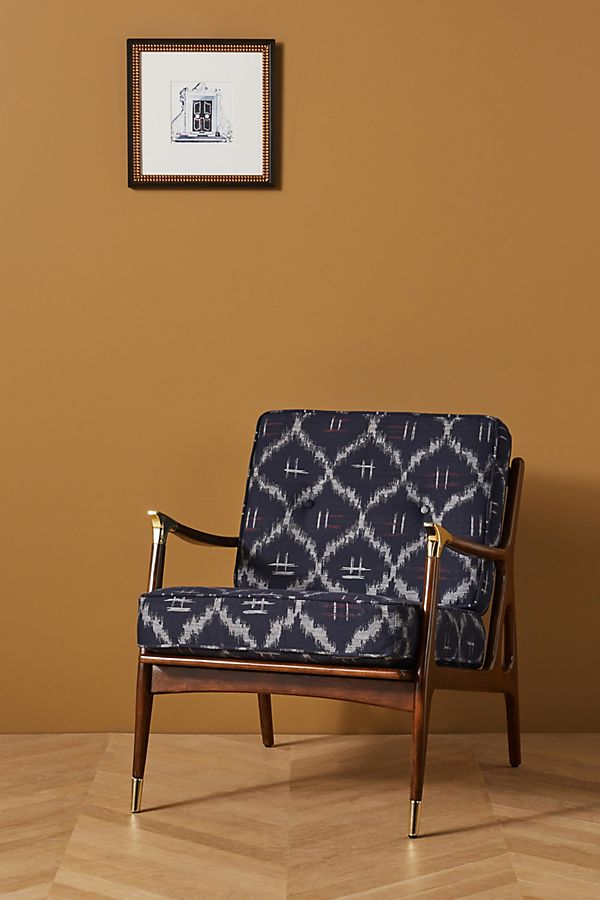 Slide View: 1: Soho Home x Anthropologie Haverhill Accent Chair