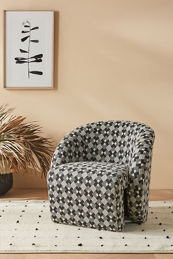 Slide View: 1: Soho Home x Anthropologie Augustus Chair