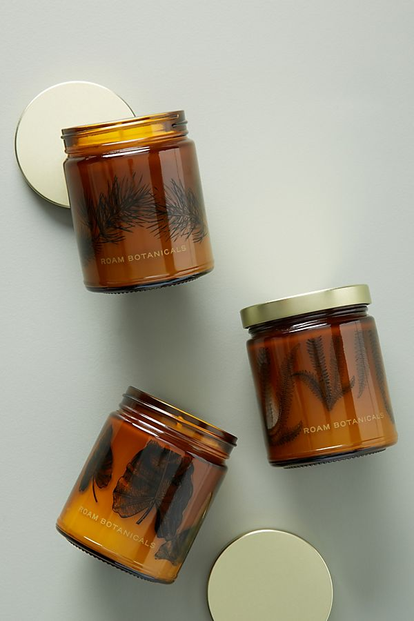 Slide View: 2: Roam Botanicals Jar Candle