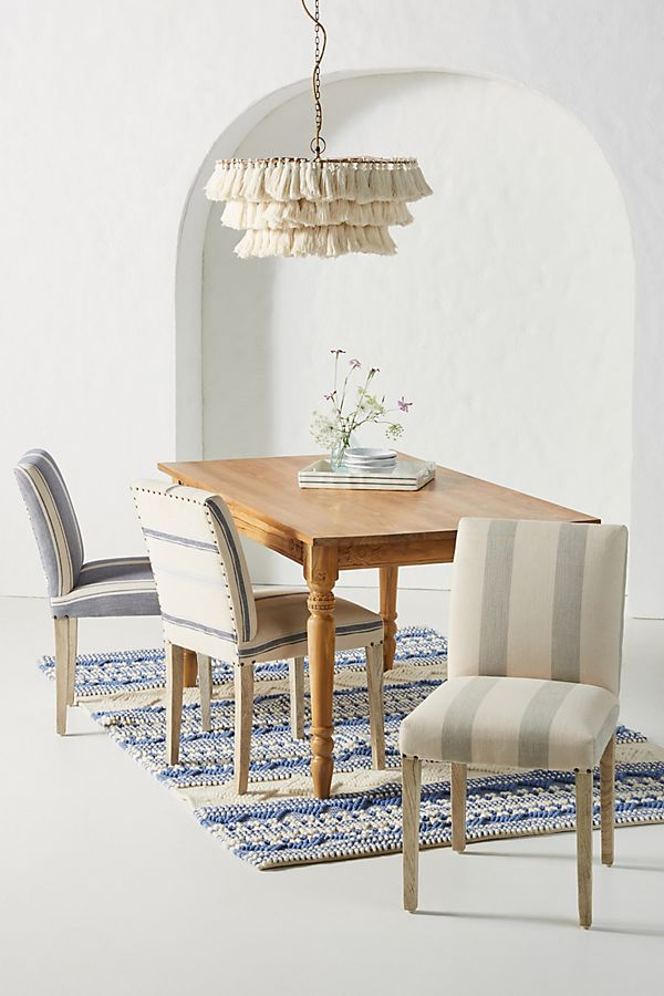 Slide View: 1: Seneca Stripe Dining Chair